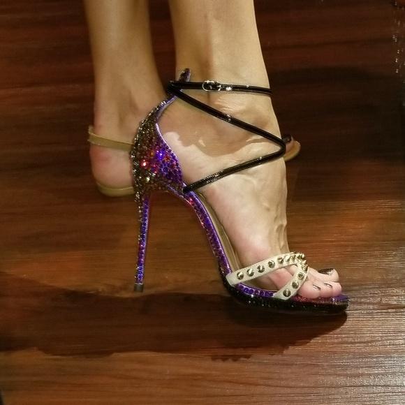 2ad04ac3322fe8 Christian louboutin Shoes - Christian louboutin monocronana Swarovski heels